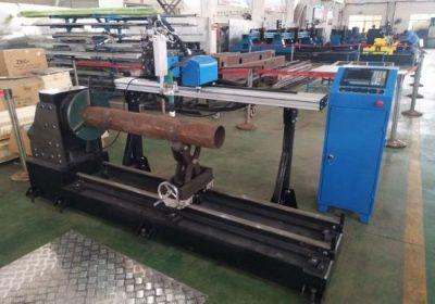 Macchina per il taglio di tubi in acciaio inossidabile al plasma cnc portatile di nuovo prodotto