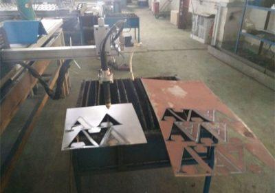 Taglierina del plasma di CNC / macchina per il taglio al plasma cnc del tubo d'acciaio rotondo del tubo quadrato